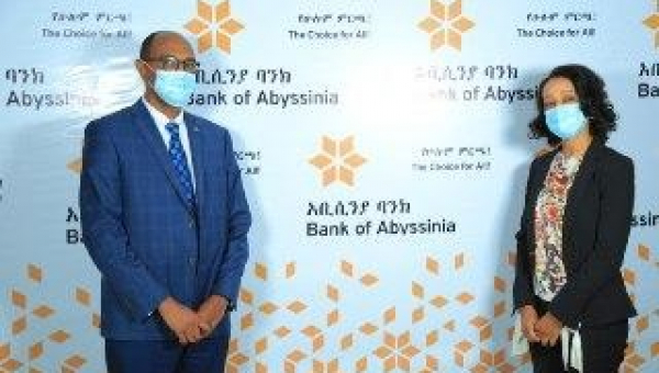 Bank of Abyssinia and Visa Launch E-Commerce Acquiring Business using CyberSource Payment Gateway Technology!